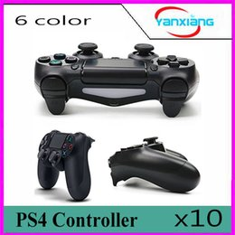 $enCountryForm.capitalKeyWord NZ - 10pcs Game Controller for PS4 Console Controller PlayStation 4 USB Power Charging Cable High Quality Joystick Gamepad YX-PS4-11
