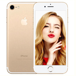 Discount refurbished iphone - Original Apple iPhone 7 2GB RAM 32 ROM 4.7inch Quad-Core IOS 10 4g LTE 12.0MP Camera Refurbished iPhone 7 Fingerprint Ph