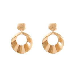 $enCountryForm.capitalKeyWord UK - Newest Fashion Great Circle Earrings Bohemian Alloy Earring Women Indian Classic Dangle Earrings Punk Earrings From China