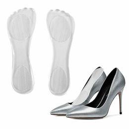 eb70fb0a5c3a Transparent High Heel Silicone Gel Cushion Insole Anti Slip Pain Relief  Foot Pad Insert High Heel Insole Flat Feet Fallen