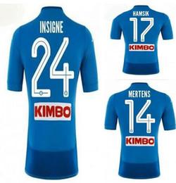 jersey naples 2019 - 2018 Napoli Home Naples Soccer Thai Quality Soccer Jersey Shirts ,Customized 17 HAMSIK 24 INSIGNE 14 MERTENS 8 JORGINHO