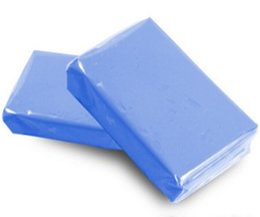 Bar Paintings Australia - 5pcs 100g Magic Car truck Clean Blue Clay Bar Auto motorcycle paint Detailing Cleaner Car Washer
