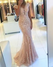 $enCountryForm.capitalKeyWord NZ - 2018 sexy cheap plus size gold prom dresses long mermaid dresses lace dress vestidos de fiesta party formal evening gowns
