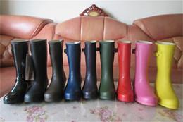 Stivali da pioggia corti raffinati da donna Stivali da pioggia da donna  alla moda Stivali impermeabili 7aab91400bd
