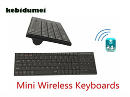 $enCountryForm.capitalKeyWord NZ - kebidumei 2018 2.4Ghz Mini Wireless Keyboards USB Bluetooth Built-in Touchpad For Windows  IOS  Android   Linux For Home Office