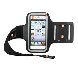 Buy Wholesale Phone UK - Arm Bag Pack Armband Package Holder Outdoor Running Cycling Sports Breathable For Mobile Phone YS-BUY
