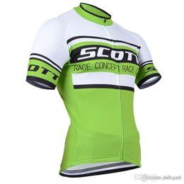 Scott Bikes Canada - 2017 Scott Cycling jerseys bike clothes Bicycle Clothing Set Men Short sleeve shirt mtb bike clothing sport jersey J2402