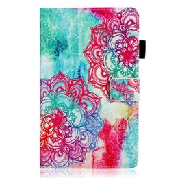 Huawei Tablet Stand Australia - Cartoon PU Leather Cover For Huawei MediaPad M5 10.8 inch CRM-AL09 CRM-W09 Tablets Case Smart Stand Case Cover+Stylus Pen+Film.