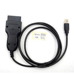Vag code scanner online shopping - Hot sales VAG K CAN Commander Pin Reader Beta VAG Kilometers Program OBD2 Scanner VAG CAN Commander