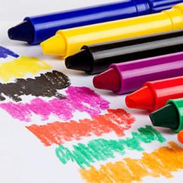 Painting Faces Australia - 12 Colors Face Painting Crayon Pencils Splicing Structure Face Paint Crayon Body Painting Pen