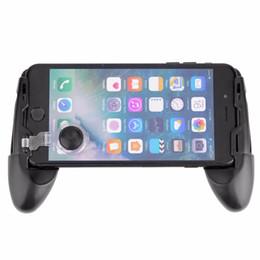 3 in 1 Evrensel Oyun Joystick + Mini Joystick Kavrama + Standı Braketi Cep telefonu için Joystick 4.7-7in Telefon için PUBG Çekim Oyunu