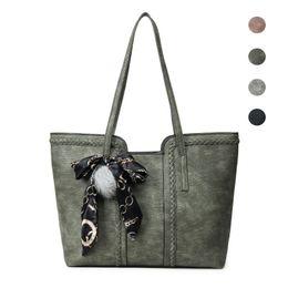 Hand Bag For Girl Leather Australia - MLHJ Brand Fashion Casual Large Capacity Women Bag Shoulder Bag for Women Hand Tote PU Leather ladies Women's Handbags girl