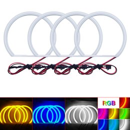 $enCountryForm.capitalKeyWord Australia - Car Xenon Cotton Angel Eyes Halo Ring Light For BMW E36 E38 E39 E46 Headlight DRL #3428
