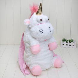 $enCountryForm.capitalKeyWord Canada - New Arrival 50CM Plush Unicorns Children Backpacks Kindergarten Bitherday Gifts For Girls and Boys Cute Plush toys Bags Kids Backpack Animal