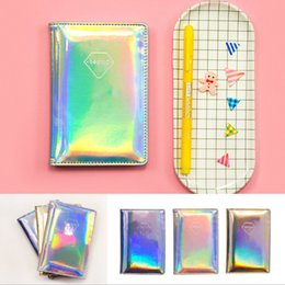passport accessories Canada - Laser Holographic Wallet Bag PU Leather Function Id Bank Card Bag Men Women Passport Business Holder Travel Accessories Passport Cover