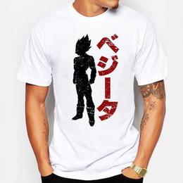 Xxl Camping Hiking T Shirts Canada - Camping & Hiking T-Shirts Super Saiyan Son Goku Printing Tee Men Anime Dragon Ball Z T Shirt Super Saiyan shirt Hipster tee shirt homme