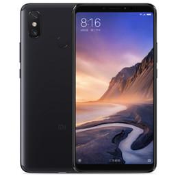 """Venta al por mayor de Teléfono celular original Xiaomi Mi Max 3 4G LTE 6GB RAM 128GB ROM Snapdragon 636 Octa Core Android 6.9 """"12.0MP ID de huella digital Teléfono móvil inteligente"""