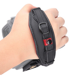 $enCountryForm.capitalKeyWord NZ - Leather Hand Strap Belt DSLR Camera Grip Wrist Hand Strap With Metal Quick Release Plate For Canon Nikon Pentax Sony Panasonic Olympus.