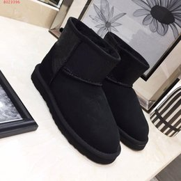 Discount stylish lady shoes heel - Fashion luxury designer women shoes High grade material upper imports outsole Comfortable warm Stylish ladies snow boots
