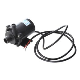 Chinese  ALIM Submersible Water Pump for Fountain Pond Brushless 24V 540LPH manufacturers