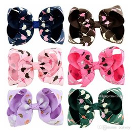 a2b4f25c52c1 Baby girls Hairclips Grosgrain Ribbon Bow Clips Heart shape Hairpins Bubble  Flower JOJO Bow Barrettes Kids Boutique Hair Accessories KFJ150