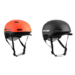 orange helmets Australia - GUB CITY PRO Road Bike Helmet Ultralight In-mold Cycling Light Helmet MTB Bicycle Goggles Safe Men Women 2018 New Arrival