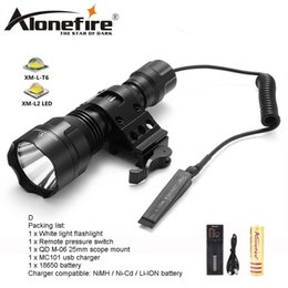 $enCountryForm.capitalKeyWord Australia - AloneFire C8s LED Tactical Flashlight 18650 Cree T6 Powerful Flash light Portable led Torch light Bike Light Camp for hunting 1x 18650