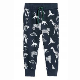 $enCountryForm.capitalKeyWord UK - baby boys pants printed animals baby boys sweatpants 2018 kids trousers pants hot selling fashion children cotton sweatpants