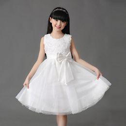 Kids modelling short clothes online shopping - summer Children Sequin Dresses Girls Lace Flower Short Girl Dresses Princess Tulle Formal Kids Dresses Fashion Girl Clothes