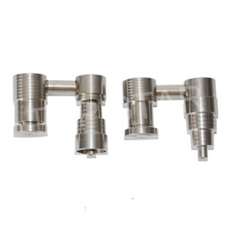 $enCountryForm.capitalKeyWord NZ - Aadjustable 4 in 1 Titanium nail Female 14&18mm Domeless Titanium Electric Nail fit 16mm or 20mm heater coil