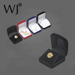 $enCountryForm.capitalKeyWord NZ - Wholesale Medals Commemorative Coins Pins Merit Badge Display Jewellery Gift Storage Boxes Black Velvet Carrying Case Organizer
