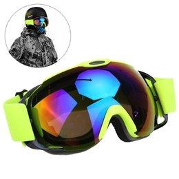 $enCountryForm.capitalKeyWord Canada - New Unisex Double Lens UV400 Anti-fog Big Ski Mask Snowboard Skiing Glasses Men Women Snow Snowboard Goggles with Case