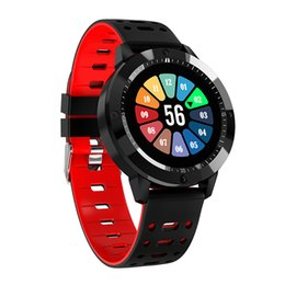 Plastic Red Heart Australia - Waterproof Smart Watch Bluetooth Sports Watch Heart Rate Monitor For Android IOS Watch for Men