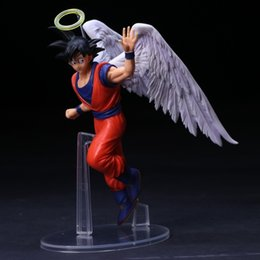 angels figures Australia - 20cm Japanese Anime Figure Toys Dragon Ball Z Action Figure Angel Son Goku Figures Doll PVC Model Kids Toy