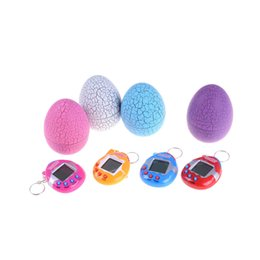 Wholesale Tamagotchis Digital Electronic E Pet Dinosaur egg retro Multi colors Virtual Cyber Digital Pet Game Toy Christmas Gift