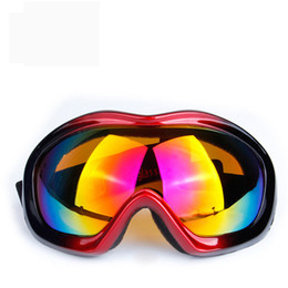 Ski Goggle Lens Color NZ - Ski Snowboard Eyewear Color Lens Anti-UV Goggles Prevent Wind Snowmobile Dirt Bike Glasses Motocross Eyewear