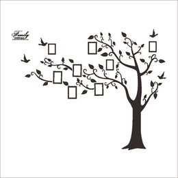 $enCountryForm.capitalKeyWord NZ - Wholesale Tree of Life Wall Stickers with Photo Frame Wallpaper for Home Decor Kitchen Accessories Household Suppllies Wallpaper