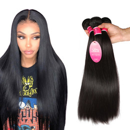 $enCountryForm.capitalKeyWord Australia - 8A Brazilian Straight Human Hair Weaves 3 Bundles Unprocessed Straight Virgin Hair Extensions Brazilian Human Hair Double Weft Cheap Price
