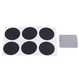 tire patches wholesale UK - 6pcs set Portable Glue Free Bicycle Inner Tire Glueless Patch Fast Patch Repair Tools Cycling Bike Bicycle Tool No Need Of Glue