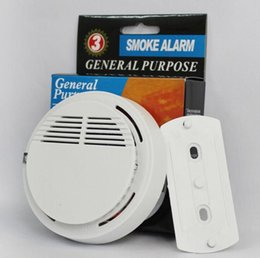 $enCountryForm.capitalKeyWord NZ - White Wireless Smoke Detector System Operated High Sensitivity Stable Fire Alarm Sensor Suitable for Detecting DHL free