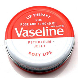 Lip Therapy NZ - Hot new Makeup brand Vaseline Lip therapy cocoa butter for soft glowing rosy lips Hydrating Petroleum jelly moisturizing Lip balm lip cream