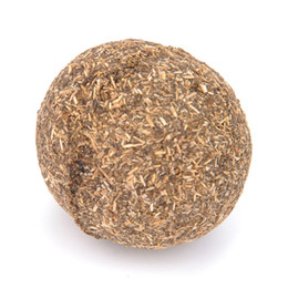 China 1 pcs Cat Toy Natural Catnip Treat Ball Favor Home Chasing Pet Toys Healthy Safe 100% Edible Treating Dog Cat Training Tools supplier healthy cat suppliers