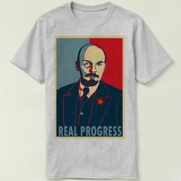 $enCountryForm.capitalKeyWord Canada - Lenin t shirt Vladimir Ilyich Ulyanov short sleeve gown Leader tees Unisex clothing Quality modal Tshirt