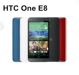 $enCountryForm.capitalKeyWord NZ - 5pcs Refurbished Original HTC ONE E8 5.0 inch Quad Core 2GB RAM 16GB ROM 13MP Camera 4G LTE Android Smart Mobile Phone