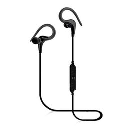 Secure hookS online shopping - A890BL Wireless Bluetooth Headphones In Ear Sports Earphones with Built in Mic Stereo Sound Noise Cancelling Headsets with Secure Ear Hook