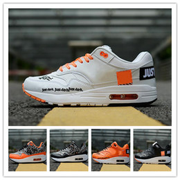 detailed look 5ef7d 28eaa 2018 free shipping high quality Air Maxs 1 87 men and women shoes fashion  casual sports running shoes 1 SE JUST DO IT 36-45
