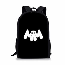 Noisydesigns Marshmello Printing Children School Bags Teenager Girls Book  Bag Kids Schoolbags s Child Shoulder Backpack e3b275fda245a