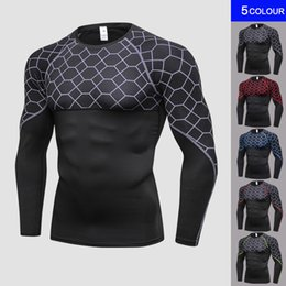 $enCountryForm.capitalKeyWord Australia - 2018 Men Compression Sport Running Shirt Men Quick Dry Gym Fitness Bodybuilding Running T Shirt Rashgard Male T For Sports
