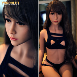 China YRMCOLOT NEW 140cm Japan Real TPE Small Silicone Sex Dolls for Men Realistic Big Breast Masturbator Vagina Pussy Adult Love Doll Skeleton suppliers