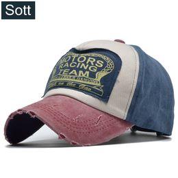 SOTT  Summer Cotton Cap Motors Racing Team Baseball Cap Snapback Hat Hip  Hop Fitted Hat For Men Women Bone Gorras Casquette 7d75c32801d4
